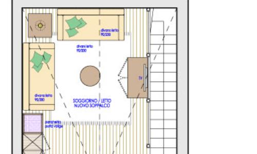 Piantina indicativa appartamenti Confort