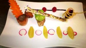 Cucina creativa all'Hotel Alexander di Molveno