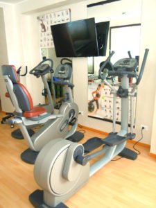 Fitness Room all'Hotel Alexander