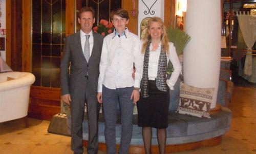 Famiglia Bonetti dell'Hotel Alexander