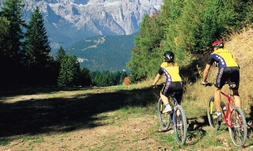Mountain Bike a Molveno