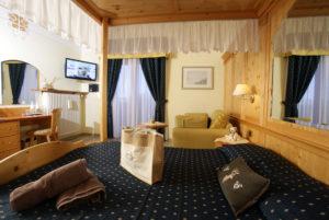 Stanza da letto Hotel Alexander Molveno