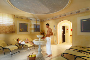 Zona relax Centro Benessere Hotel Alexander Molveno