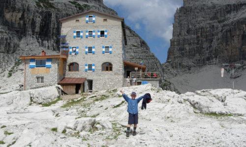 Rifugio T. Pedrotti Dolomiti di Brenta