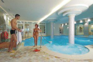 La piscina riscaldata del nostro hotel
